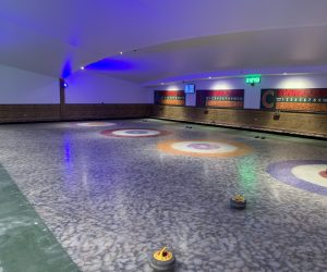 Curling at the Flower Bowl