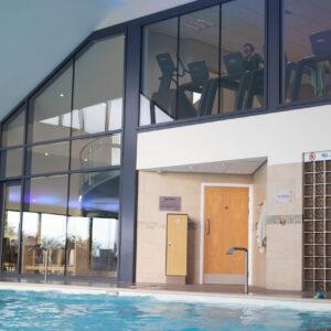 pool and gym